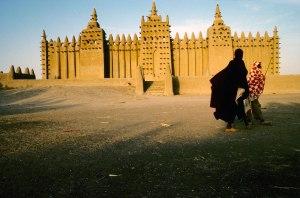 Djenné, classée au patrimoine mondial de l'UNESCO
