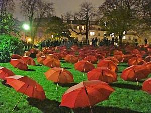 Chauds les marrons aux Buttes-Chaumont, Nuit Blanche 2009