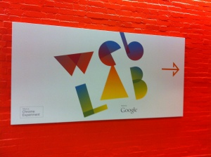 Google Web Lab London